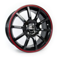 16-7(5-100)45/67.1 Ritter R002 Black+Red+Lip